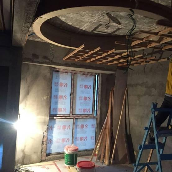 木龙骨吊顶施工